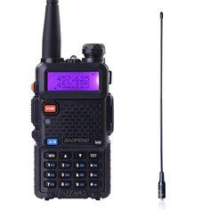 Baofeng uv-5r walkie talkie de doble banda de radio vhf uhf transceptor de radio de jamón cb radio portátil walkie talkie de mano