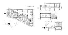 aris konstantinidis / weekend house . greece (1951) Tectonic Architecture, Architect Drawing, Weekend House, Book Study, Greece, House Plans, Floor Plans, Drawings, Plants