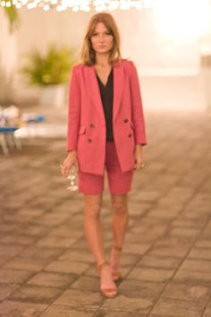 I love Emerson and everything she does but her Spring collection just reached another level of my heart with this Rose Short Suit