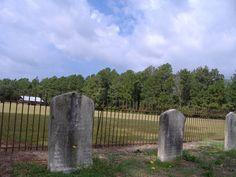 Graves at Bentonville Battleground in Four Oaks, NC