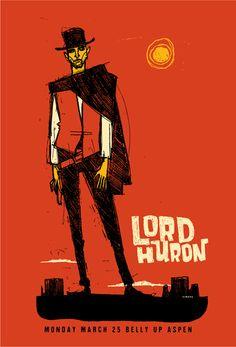 Lord Huron by Scrojo