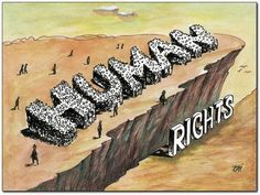Interesting political cartoon regarding Human Rights.