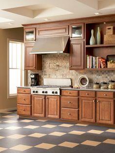 Linoleum Flooring In The Kitchen