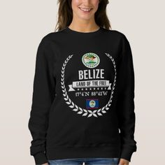 #Belize Sweatshirt - #travel #trip #journey #tour #voyage #vacationtrip #vaction #traveling #travelling #gifts #giftideas #idea