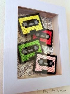 Cassette Tapes - Perler / Hama / Melty / Fuse