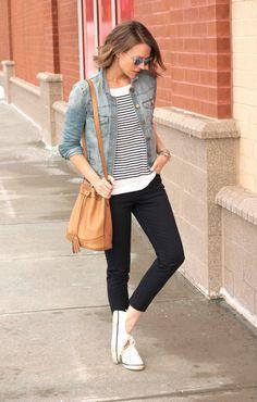 Cute causal weekend outfit