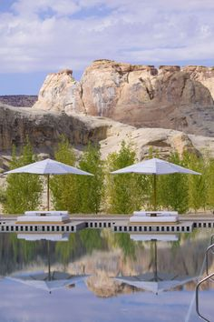 Where: Canyon Point, Utah Why: Located on an expanse of wilderness, the views are spectacular and the spa is world-class.   - ELLEDecor.com