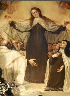 Our Lady of Mt. Carmel, pray for us and all Carmelites that they might be true to their vocations. Blessed Mother Mary, Divine Mother, Blessed Virgin Mary, Catholic Art, Catholic Saints, Religious Art, Catholic Priest, Pictures Of Mary, Images Of Mary