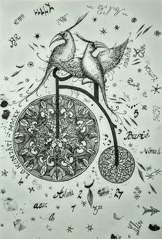 Compass Tattoo, My Arts, Crochet, Diy, Bricolage, Ganchillo, Do It Yourself, Crocheting, Knits