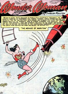Sometimes I can't get over how great H.G. Peter is. Image from Wonder Woman #33 (1949)