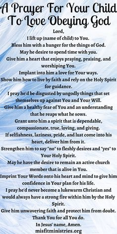 Prayer For Parents, Prayer For My Children, Prayer For Family, Prayer For You, Prayer Of Praise, God Prayer, Prayer Scriptures, Prayer Room, Bible Quotes