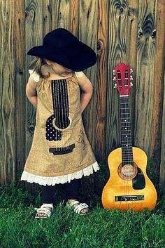 righteous guitar dress for Moon!