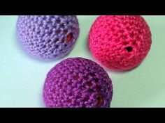 Make Cute Crocheted Beads - DIY Crafts - Guidecentral - YouTube