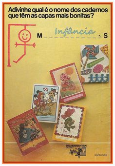Cadernos Antigos #nostalgia