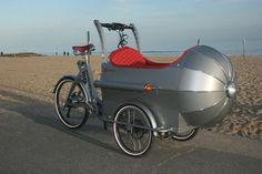 The Boxer Cycles Rocket cargo bike turns your commute into a trip to outer space