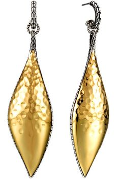 Dangle earrings from the John Hardy Palu Collection, Mambal, Bali....