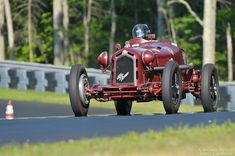 Peter Greenfield- Alfa Romeo 8C 2300 Monza.