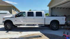 Photos of custom built long bed mega cab and 6 door trucks. Post photos of your stretched truck in our gallery. Lifted Ford Trucks, Diesel Trucks, Cool Trucks, Pickup Trucks, 6 Door Truck, Ford F Series, Ford 4x4, Ford Super Duty, Rv Campers