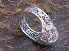 anillo de plata goto plata 925 filigrana