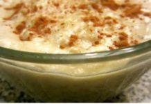 Συνταγή Αγίου Όρους: Ρυζόγαλο με ταχίνι πεντανόστιμο