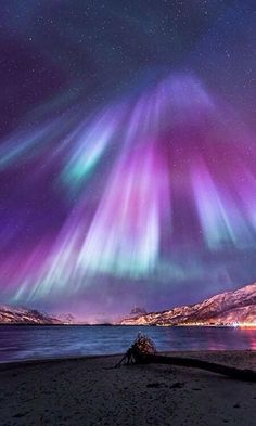 Aurora lights ~ Northern Norway #Norway ☮k☮ #Norge