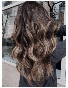 Brown Hair Balayage, Brown Blonde Hair, Hair Color Balayage, Hair Color For Black Hair, Brown Hair Colors, Bayalage On Dark Hair, Blonde Balayage On Brown Hair, Hair Color Ideas For Brunettes Balayage, Sombre Hair