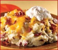 Garlic Mashed Potatoes dinner-ideas
