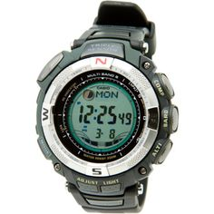 Casio Men's PAW1500-1V Pathfinder Multi-Band Solar Atomic Ultimate Watch Click on the link to know more about its features