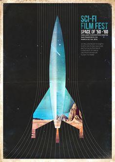 Kevin Harald Campean – Sci-fi Film Festival Identity