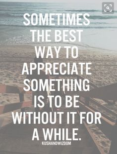 Always appreciate