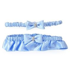 Cathy's Concepts Silk Wedding Garter with Rhinestones, Blue by Cathy's Concepts. $29.98. Silk. One Size Fits Most. Rhinestones. Includes Free Tossing Garter. Tied Bow. 100% Silk. One of our most anticipated garters to date, the Silk Wedding Garter with Rhinestones in Blue is the perfect combination of understated elegance and well executed glamour. Fashioned in the softest silk, it is delicately complimented with a sweetly tied bow, bedecked in glitzy rhinestones... ...