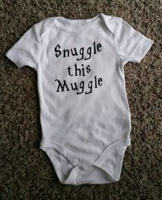 This snuggly onesie. | 27 Adorable Harry Potter Things Your Baby Needs