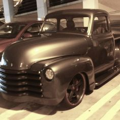 classic truck...love the color!