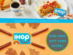 Get a $100 IHOP Gift Card Giveaway. It's trusted, easy to get & working 100%. To get this offer you need to go to the link & have to complete a simple survey.  #ihopgiftcard #ihopgiftcards #ihop #ihopeyoudance #ihopethisreachesherintime #ihops #ihope #ihopeyourehappy #ihopu #ihopkc #ihopeyourhappy #ihoppancakes #ihopetheyservebeerinhell #ihopecommunity #ihopgiftcard #ihopgiftcards #ihopgiftvoucher #freeihop #freeihoppancakes #freeihoppancakesday #freeihoppancake #freeihopshortstack