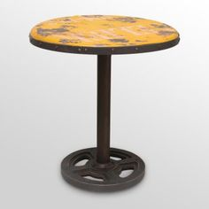 round pub table to match the stools I pinned .... awesome!