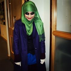 Joker modest cosplay