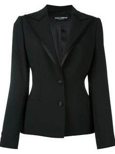 Check out Dolce & Gabbana with over 1 items in stock. Shop Dolce & Gabbana satin trim peaked lapel blazer today with fast Australia delivery and free returns. Blazer Outfits, Blazer Fashion, Fashion Boots, Black Blazers, Blazers For Women, Tall Women, Office Fashion, Colored Blazer, Cute Outfits