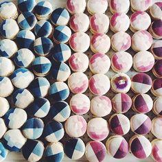 Fendi printed macarons  #bakeministry  #bakeministrymacarons #Padgram