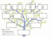 Blank Family Tree Template  Yahoo Image Search Results  Primary