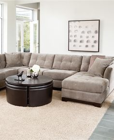 Compromise sofa and perfect multi functional coffee table for living room.