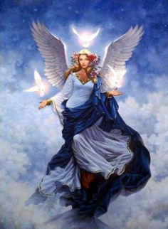 Guardian Angel - Angel of God, my guardian dear to whom your love commits here, ever this day be at my side to light and guard to rule and guide!