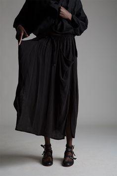 Vintage Issey Miyake Linen Skirt