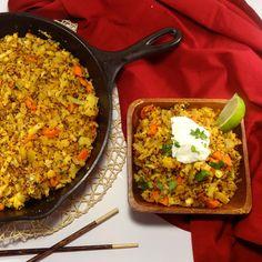 Curried Cauliflower Quinoa Bowls - Colleen's Kitchen