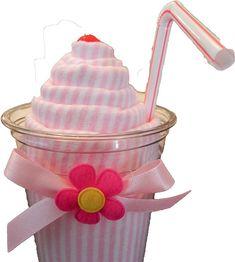 Receiving Blanket Milkshake  Unique Baby Shower Gifts by BabyBinkz,