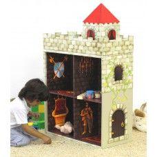 kasteel / boekenkast