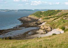 Sand Point in Weston-super-Mare // 10 of the best walks in North Somerset //
