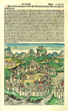 Constantinople in 1493