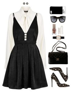 Designer Clothes, Shoes & Bags for Women Cute Skirt Outfits, Classy Outfits, Pretty Outfits, Stylish Outfits, Kpop Fashion Outfits, Fashion Dresses, Polyvore Outfits, Polyvore Fashion, Mode Kpop