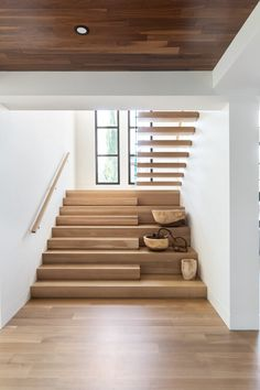 Staircase Design Modern, Home Stairs Design, Home Room Design, Dream Home Design, Modern House Design, Home Interior Design, Interior Architecture, Stair Design, Staircase Architecture