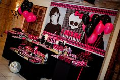 Monster High 8th Birthday Party via Kara's Party Ideas   Kara'sPartyIdeas.com #monster #high #birthday #party (41)